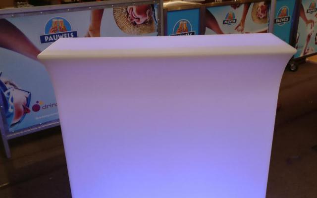 Led toogelement met ijsbak